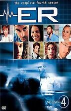 NEW. ER - The Complete Fourth Season (DVD, 2005, 6-Disc Set)