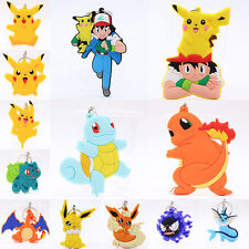 New Pocket Monster Pokémon Pikachu Zenigame Charmander Rubber Keyrings Keychains