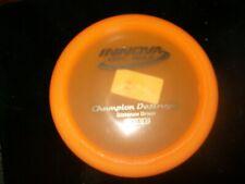 new Innova Champion Destroyer disc golf 169g bright orange, old school stamp!