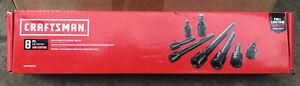 Craftsman CMMT99279 Set Pinless Impact Tool Accessory Set 8 Piece