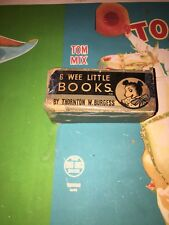 SCARCE 1934 THORNTON W BURGESS BOX ONLY FOR WEE BIG LITTLE BOOKS