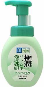 ☀Rohto Hadalabo Gokujyun Super Hyaluronic Acid Cleanser Adlay Acnecare 160ml F/S
