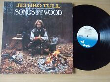 JETHRO TULL 'SONGS FROM THE WOOD'  1977 UK ISSUE LP  BLUE CHRYSALIS CHR1132 EX