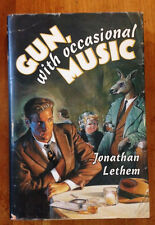 Gun, with Occasional Music Jonathan Lethem SIGNED HCDJ 1st/1st First Edition