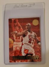 1995-96 Fleer Ultra Double Trouble Gold Medallion Michael Jordan #3