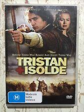 TRISTAN + ISOLDE (DVD R4 2006) James Franco Sophia Myles VGC Ridley Scott