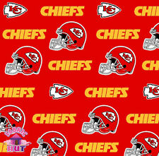 Kansas City Chiefs NFL Cotton Fabric 6315 D