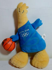 OLYMPICS ATHENS 2004 PHEVOS 12'' SOFT PLUSH DOLL BASKETBALL McDONALD'S