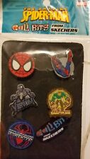 New MARVEL The Amazing Spiderman Cali Bits Shoe Charms by Skechers