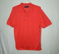 Nautica Luxury Performance Short Sleeve Golf Polo Shirt LARGE L Mens Clothing