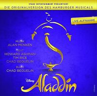 MUSICAL-ORIGINAL CAST - ALADDIN-ORIGINALVERSION DES HAMBURGER MUSICALS  CD NEU