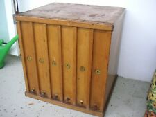 Art Deco Bauhaus Jugendstil Aktenschrank Apothekerschrank Büroschrank antik Loft
