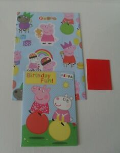 PEPPA PIG WRAPPING PAPER CARD AND TAG