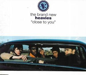 """The Brand New Heavies (CD1) - """"Close To You"""" (1995 CD Single)"""