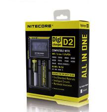 Original Nitecore D2 Digi charger Led Fo Li-ion & Ni-Mh