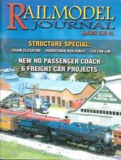 Railmodel Journal Apr.2002 Cotton Gin Grain Elevator Passenger Coach Texas D&RG