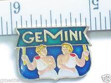 Zodiac sign Sayings Pin Pinback Gemini Zodiac Pin