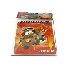 "Disney Pixar Cars Lightning McQueenS Notebook 50 sheets 5"" x 5""  #14434"