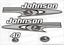 Adesivi motore marino fuoribordo Johnson 40 cv bombard gommone barca