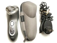 NICE PHILIPS NORELCO CORDLESS MEN'S ELECTRIC SHAVER 8140 XL W /CORD + CASE F4.4
