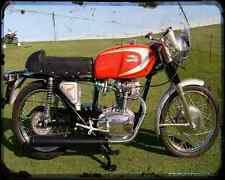 Ducati 250 Mark 3 65 A4 Photo Print Motorbike Vintage Aged