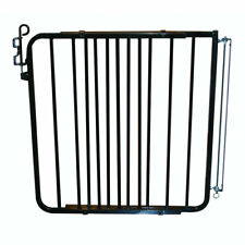 Cardinal Gates 29.5 Inch Adjustable Aluminum Auto-Lock Indoor Baby Gate, Black