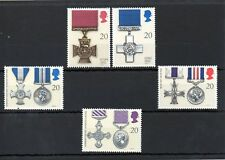 British 1990 Gallantry Awards MNH set S.G. 1517-1521