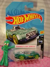 MONTERACER #34✰green/black;yellow pr5✰X-RAYCERS✰2018 i Hot Wheels case B