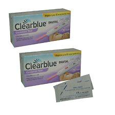 20 Clearblue Digitale Test Di Ovulazione + 2 One Step Gravidanza Strisce