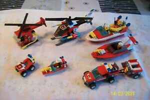 LEGO CITY. FIRE.4914+4992+7942+6685+7238+6429+7043. COMPLETS