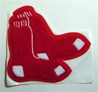 """Boston Red Sox Baseball Chenille Cloth Jacket 6"""" Patch"""
