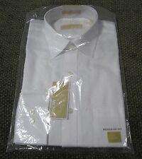 NWT Michael Kors Regular Fit Dress White Long Sleve Men's Shirt Size 15 32/33