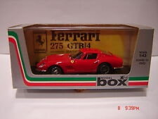 Ferrari 275 GTB/4 scale 1:43  in box
