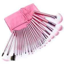 22pcs Professional Soft Cosmetic Makeup Brush Set Pink + Pouch Bag On Sale US