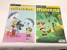 MINIONS #1-2 (TITAN COMICS/MOVIE/Dispicable ME/1115161) COMPLETE SET LOT OF 2