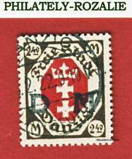 GERMANY - DANZIG STAMPS  USED 1922 Mi 97 COAT of ARMS (XXVI)