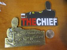 US Navy THE CHIEF A Smooth Sea Never Made A Skilled Sailor CPO Challenge Coin