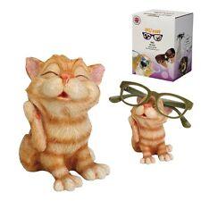 Optipaws Ginger Cat Glasses Holder Ornament NEW in Gift Box - 27046