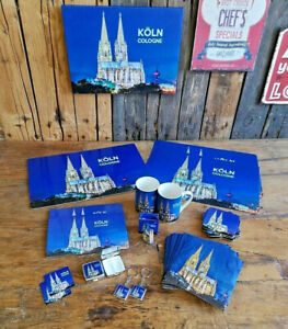 Souvenir Kölner Dom Tischset Magnet Brettchen Tasse Servietten Pillenbox Köln