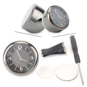 Car Inlaid Interior Clock Refit Luminous Electronic Quartz Watch Fit Buick Auto