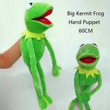 Kermit the Frog Hand Puppet Soft Plush Doll Toy Kids Birthday Best Xmas Gift 22'