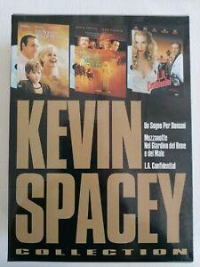 Kevin Spacey Collection 3DVD ITA Edizione Snapper Cult Vintage Fuori Catalogo