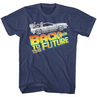 Back to The Future 8Bit Pixel DeLorean Car Men's T Shirt Gaming Lego Movie Logo