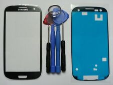 Samsung Galaxy S3 Grey Genuine Glass Replacement Screen Lens Tools + Adhesive