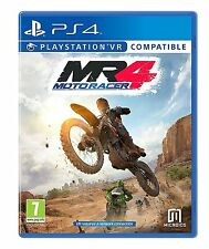Moto Racer 4 MR4 [PlayStation 4 PS4, Region Free, Motocross Arcade Racing] NEW