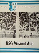 Programm 1979/80 1. FC Magdeburg - Wismut Aue