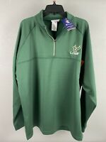 Champion Mens USF Bulls 1/4 Zip Sweatshirt Size 2 XL