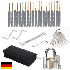 24-teiliges Pick-Set Dietriche Kit Profi Lockpicking ,Schlossknacken Schlosserei