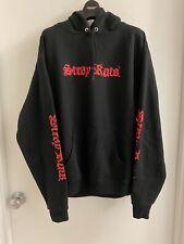 Stray Rats Champion Pullover Hoodie Men's Adult Medium Black Graphic