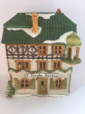 "Dept 56 Alpine Village ""E Staubr Backer"" Produced 1986 Handpainted Porcelain"